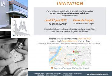 Invitation à notre soirée d'information